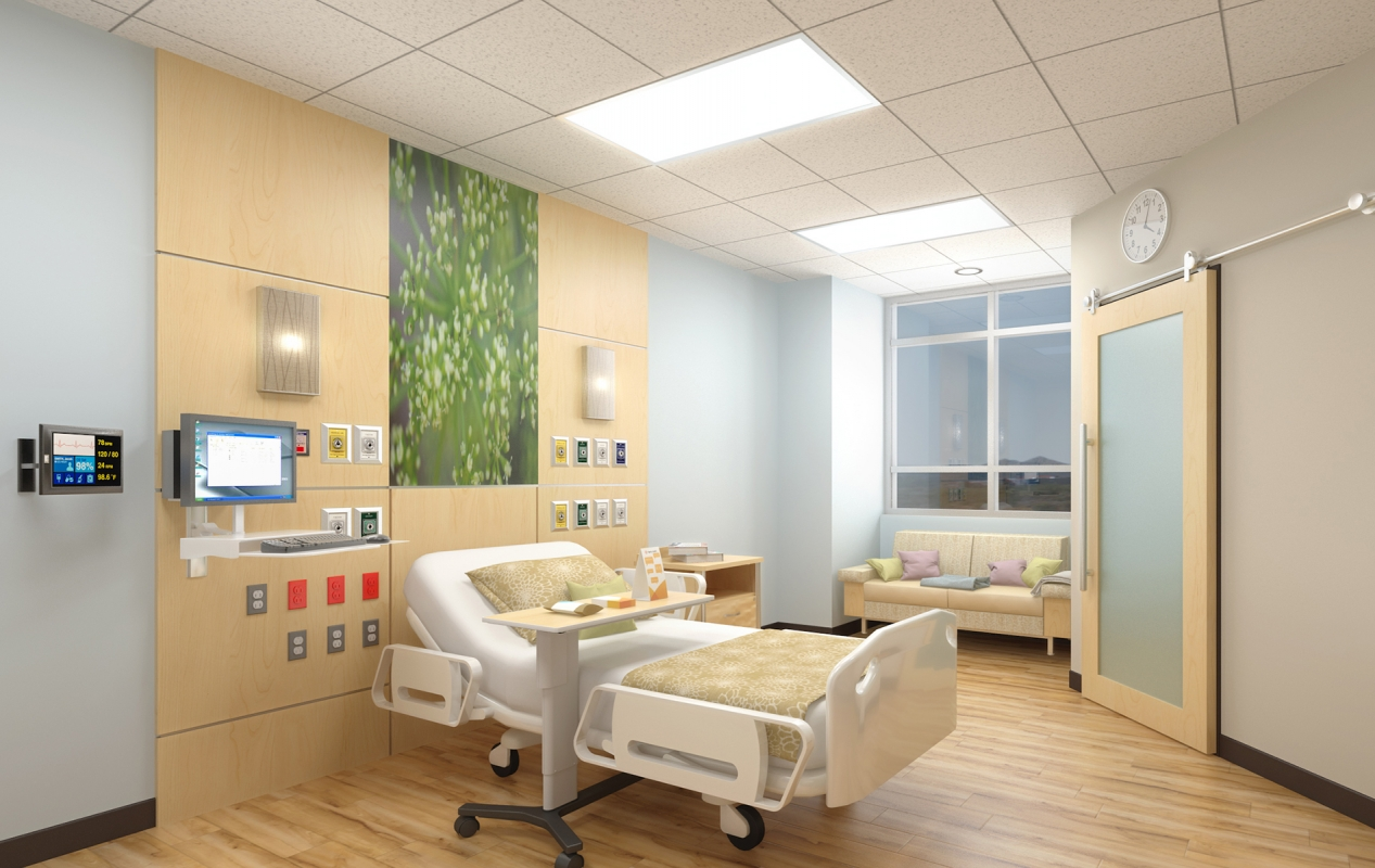 Dignity Health Mercy Southwest Campus Bed Tower Addition and Renovations Interior ICU