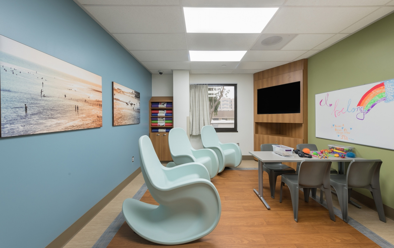 Sharp Mesa Vista Hospital Expansion and Improvement Interior