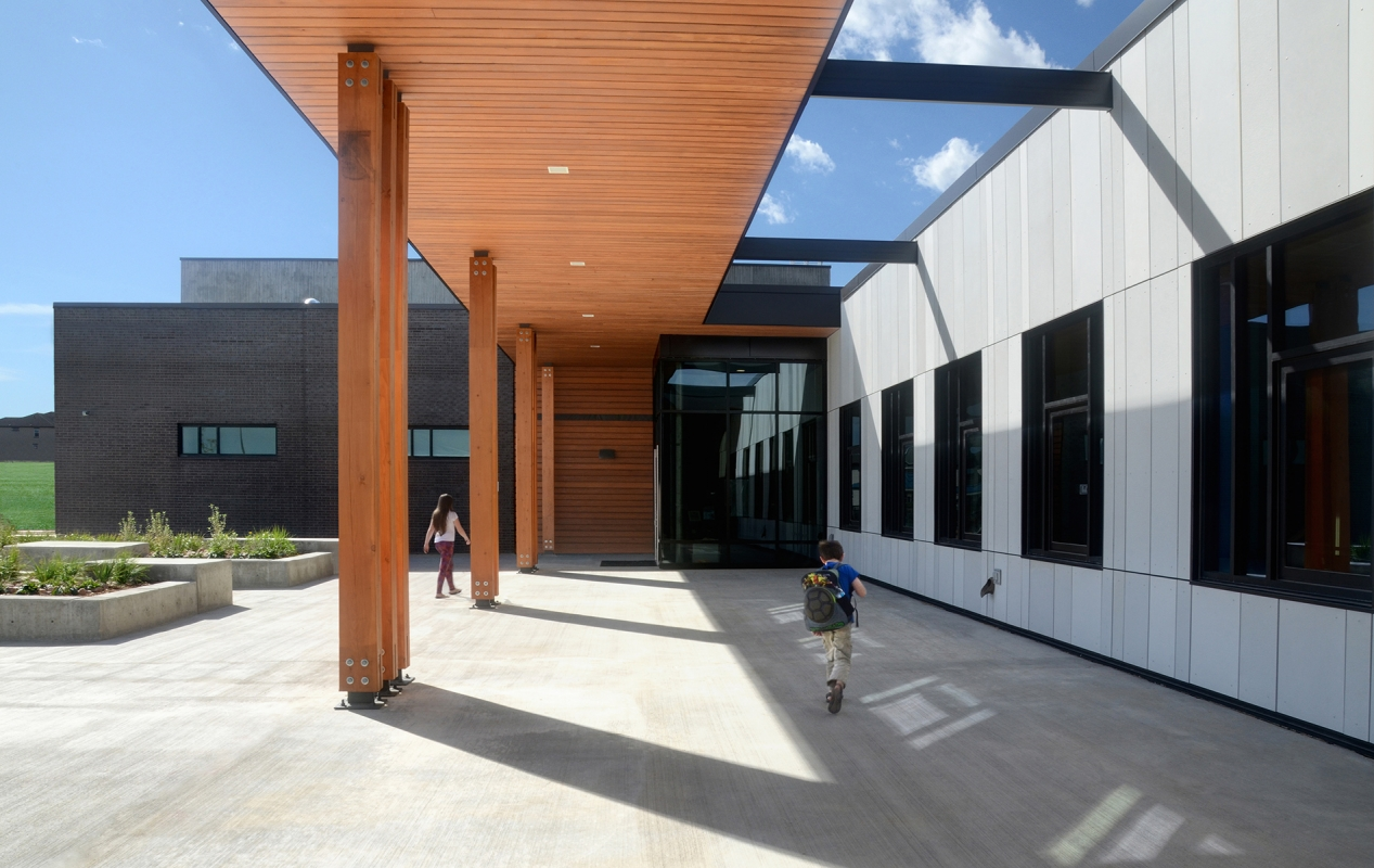 Meadowlark School Front Entry