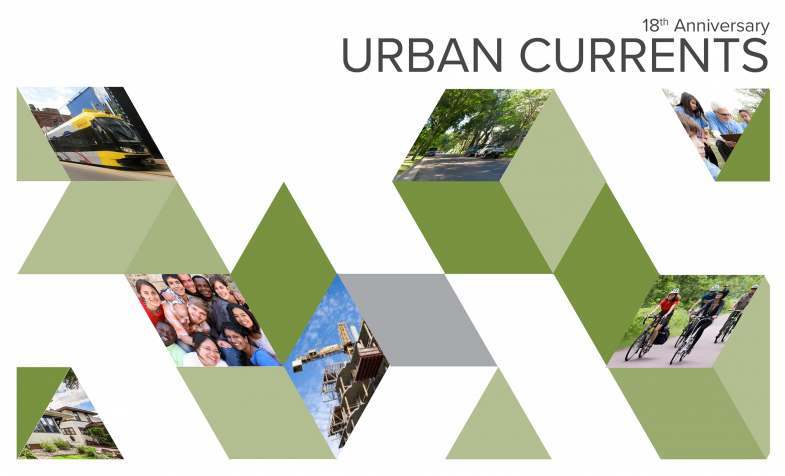 Urban Currents 18th anniversary Graphic