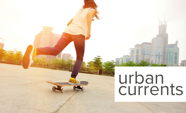 urban currents skateboarding graphic